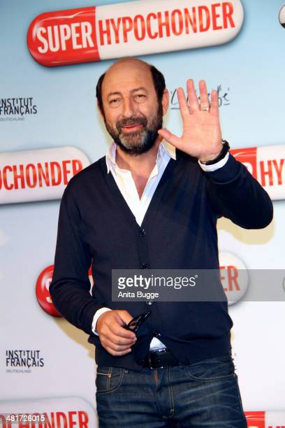 French actor Kad Merad attends the 'SuperHypochonder' Photocall at Regent Hotel on March 31 2014 in Berlin Germany