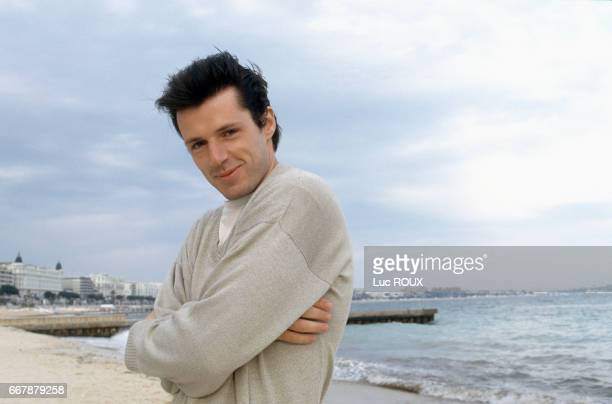 French actor Lambert Wilson during the Cannes Film Festival.