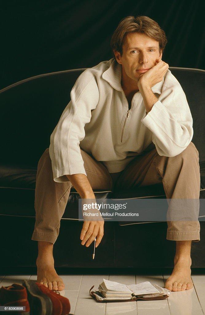 French Actor Lambert Wilson : Photo d'actualité