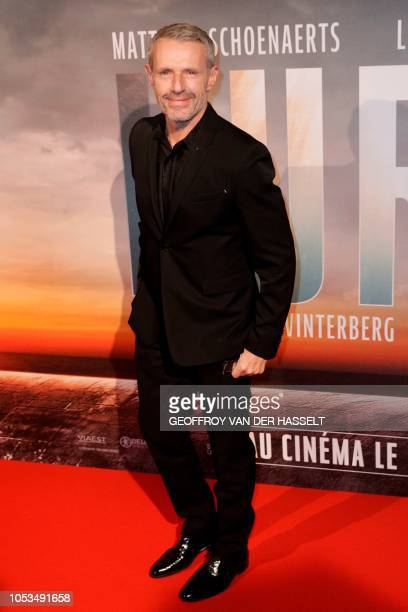 French actor Lambert Wilson poses on the red carpet prior to the premiere of the movie 'Kursk' at La Cite Du Cinema on October 25 2018 in SaintDenis