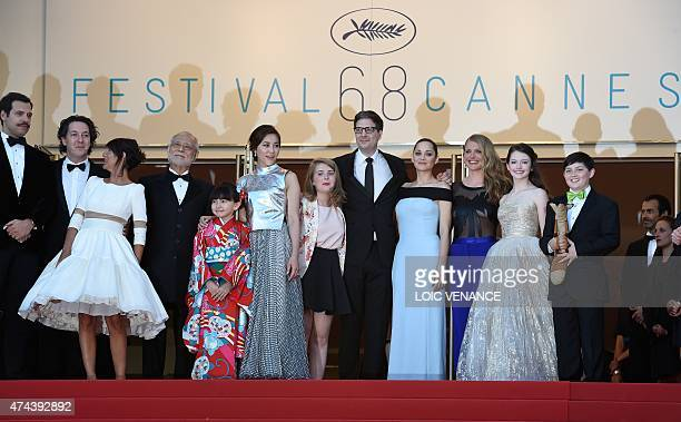 French actor Laurent Lafitte French actor Guillaume Gallienne French actress Florence Foresti Japanese actor Masahiko Tsugawa Japanese actress Rio...