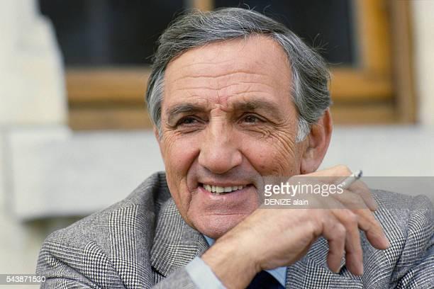 French Actor Lino Ventura at the Cognac Festival du Film Policier