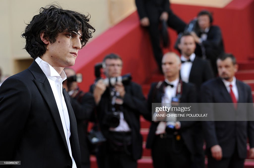French actor Louis Garrel arrives for the screening of 'Des Hommes et des Dieux' (Of God and Men) presented in competition at the 63rd Cannes Film Festival on May 18, 2010 in Cannes.
