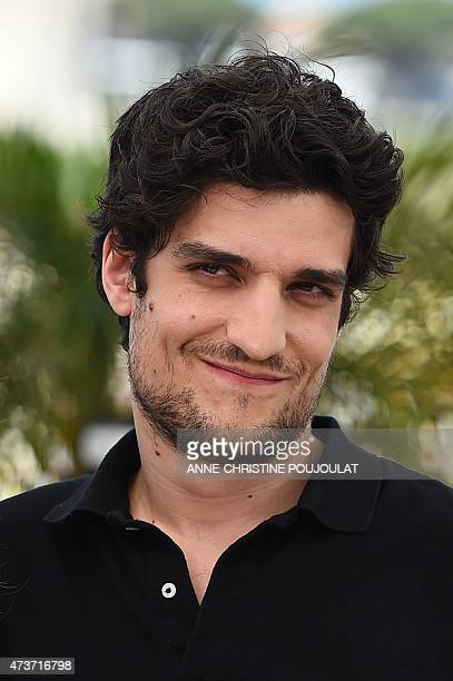 """French actor Louis Garrel poses during a photocall for the film """"Mon Roi"""" at the 68th Cannes Film Festival in Cannes, southeastern France, on May 17,..."""