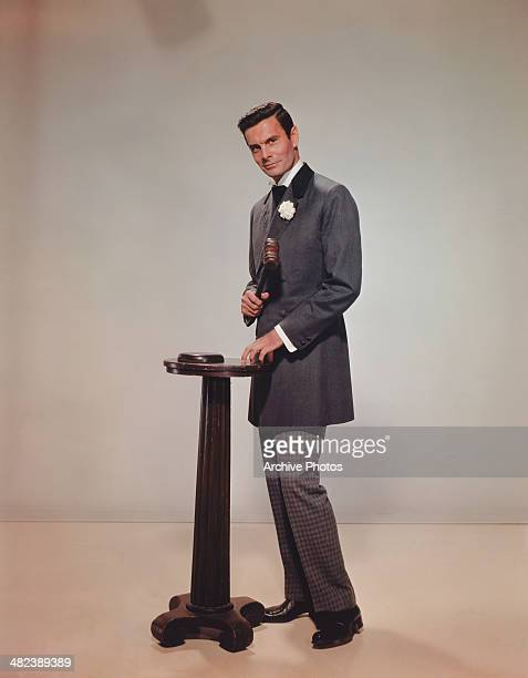 French actor Louis Jourdan as Philippe Forrestier in the 20th Century Fox film 'CanCan' 1960