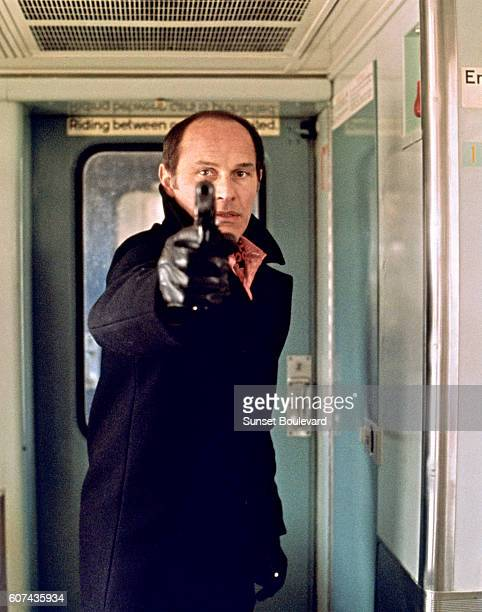 French actor Marcel Bozzuffi on the set of The French Connection based on the book by Robin Moore and directed by William Friedkin