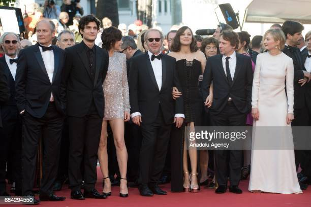 French actor Mathieu Amalric French director Arnaud Desplechin French actress Marion Cotillard French actor Louis Garrel French actress Charlotte...