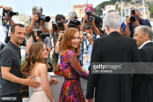 French actor Mathieu Kassovitz Belgian actress Fantine Harduin French actress Isabelle Huppert Austrian director Michael Haneke and French actor...