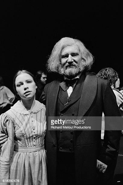 French actor Maurice Barrier is Jean Valjean in the musical Les Miserables based on the novel by Victor Hugo and directed by Robert Hossein at the...