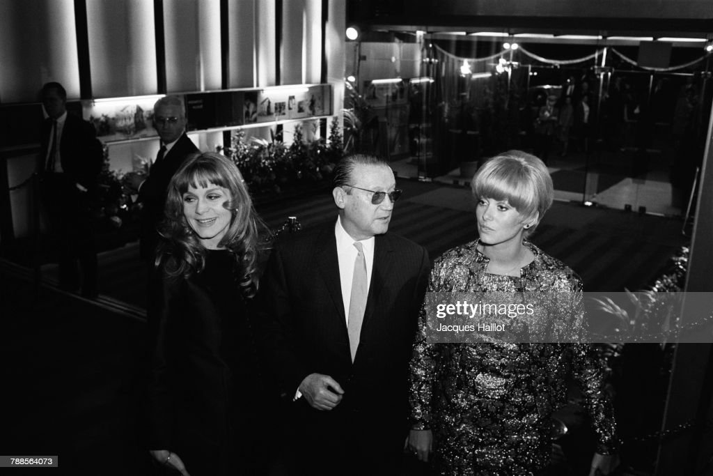 Maurice Dorleac with Daughters : News Photo