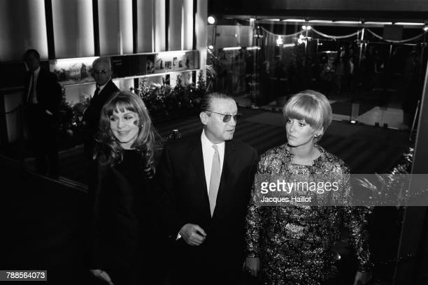 French actor Maurice Dorleac with his daughters actresses Francoise Dorleac and Catherine Deneuve