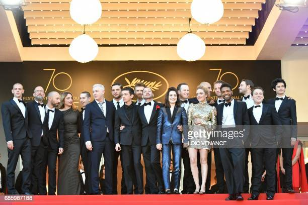 French actor Mehdi RahimSilvioli ActUp cofounder Didier Lestrade French actor JeanFrancois Auguste French actress Adele Haenel French actor Ariel...
