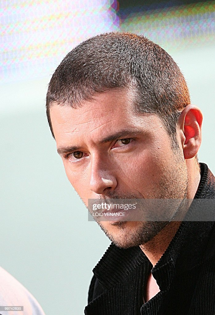 French actor Melvil Poupaud attends the : News Photo