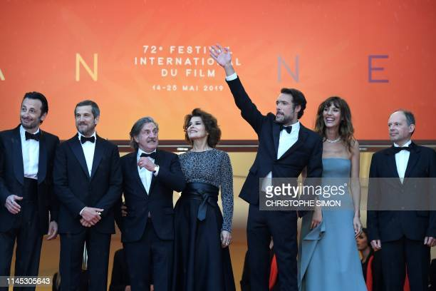 French actor Michael Cohen French actor Guillaume Canet French actor Daniel Auteuil French actress Fanny Ardant French director Nicolas Bedos French...