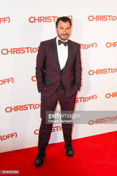 French actor Michael Youn attends the Christ Paris Premiere photocall at UGC Cine Cite Bercy on June 18 2018 in Paris France