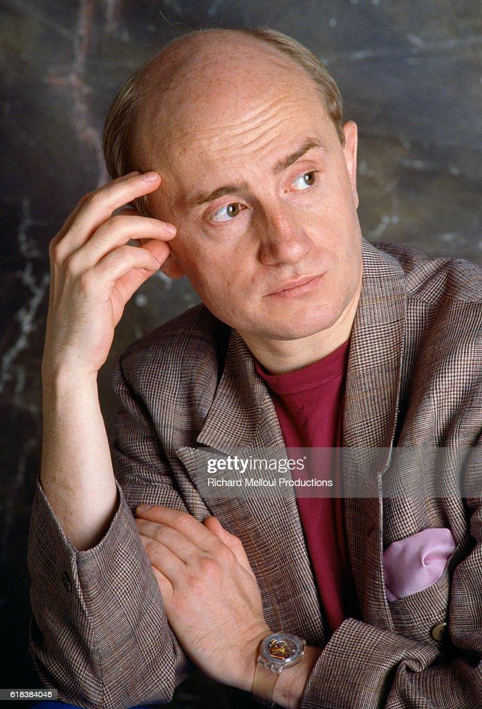 French Actor Michel Blanc : Photo d'actualité