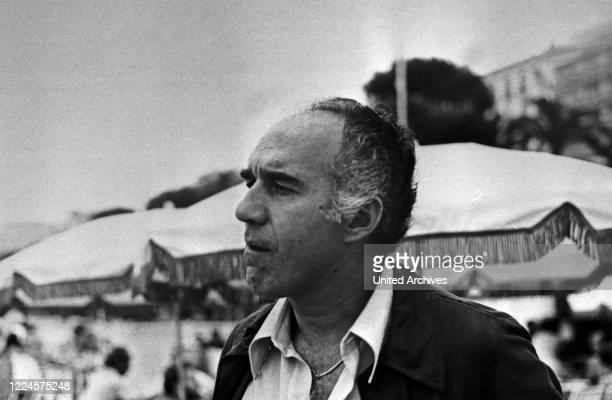 French actor Michel Piccoli at the Cannes Film Festival May 1974 France 1970s
