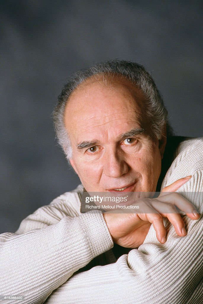 French Actor Michel Piccoli : Nachrichtenfoto