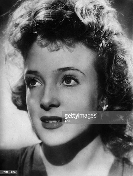 French actor Micheline Presle c 1945