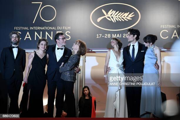 French actor Misha Lescot French producer Florence Gastaud French director Michel Hazanavicius French actress/director and French director JeanLuc...