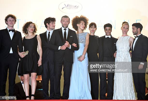 French actor Norman Thavaud, French actress Amanda Added, French actor Louis Garrel, French actor Vincent Cassel, French actress Chrystele...