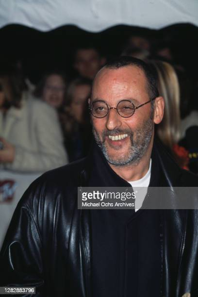 French actor of Andalusian Spanish descent Jean Reno attends the 2000 MTV European Music Awards, held at the Ericsson Globe, Stockholm, Sweden, 16th...