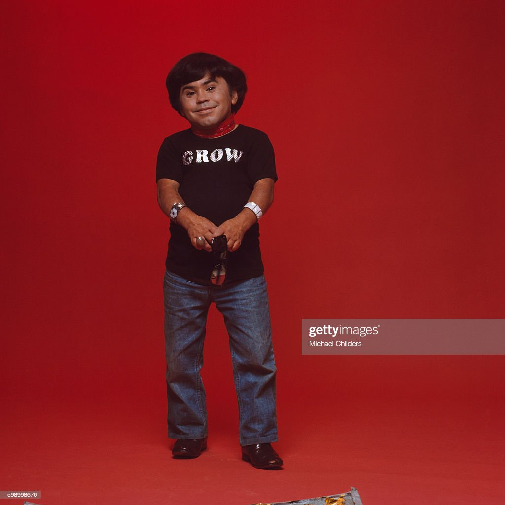 French Actor Herve Villechaize : News Photo