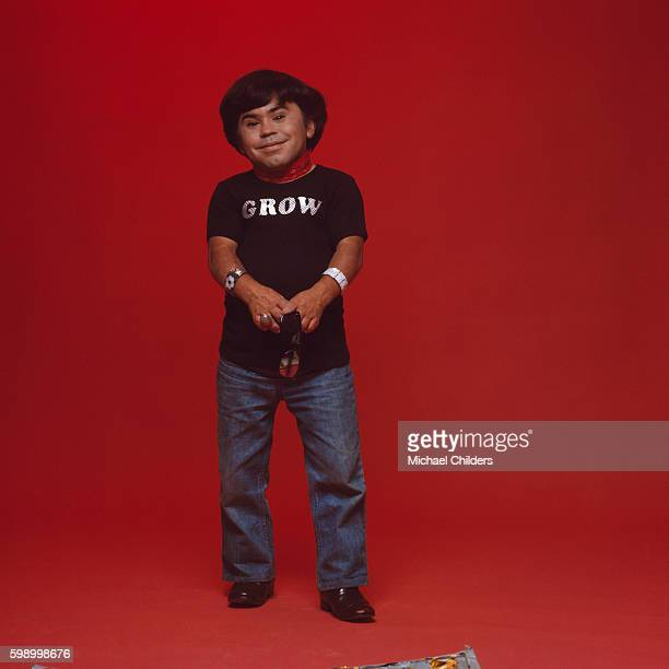 French actor of Filipino origins Herve Villechaize