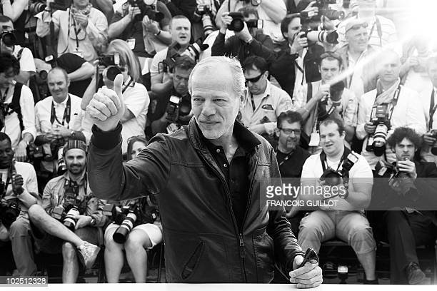 French actor Pascal Greggory poses during the photocall of 'Rebecca H ' presented in the Un Certain Regard selection at the 63rd Cannes Film Festival...