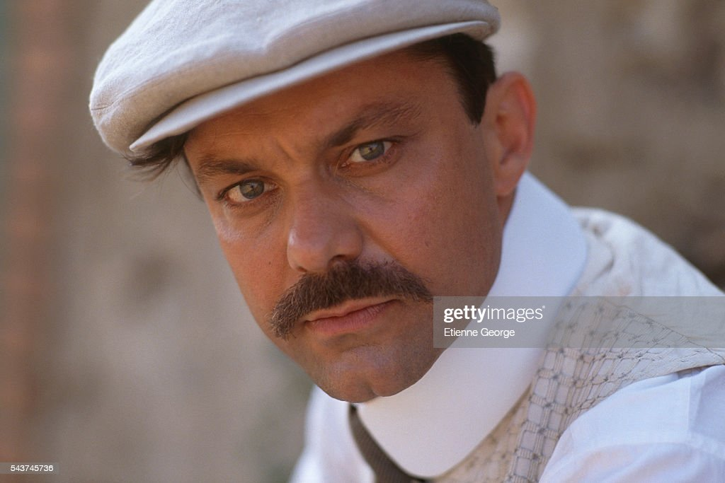 French Actor Philippe Caubere On The Set Of The Film Le Chateau De Ma Mere