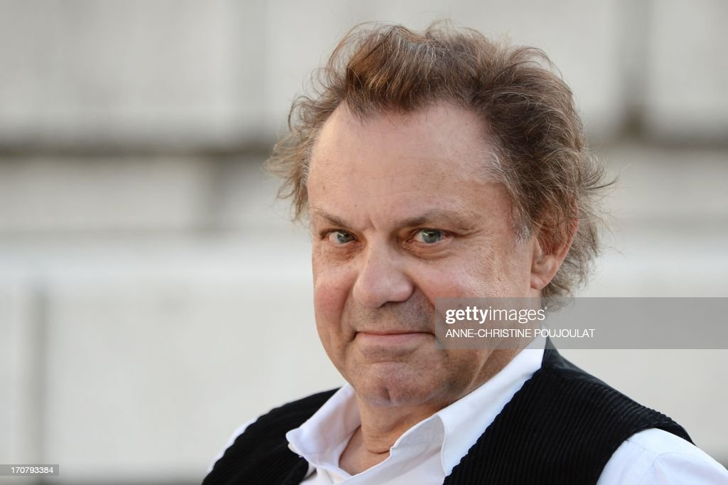 French Actor Philippe Caubere Who Plays Marcel Pagnol Poses Before Taking Part In A Rehearsal Of The Play Jules Et Marcel Directed By Jean Pierre
