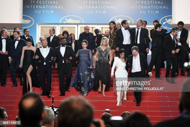 French actor Philippe Katerine Belgian actor Jonathan Zaccai French actress Melanie Doutey French actor Alban Ivanov actor Balasingham Thamilchelvan...