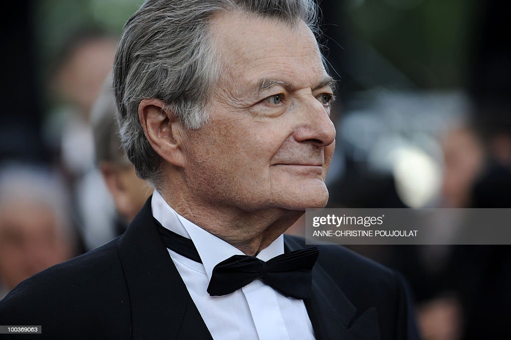 French actor Philippe Laudenbach arrives for the screening of 'Des Hommes et des Dieux' (Of God and Men) presented in competition at the 63rd Cannes Film Festival on May 18, 2010 in Cannes.