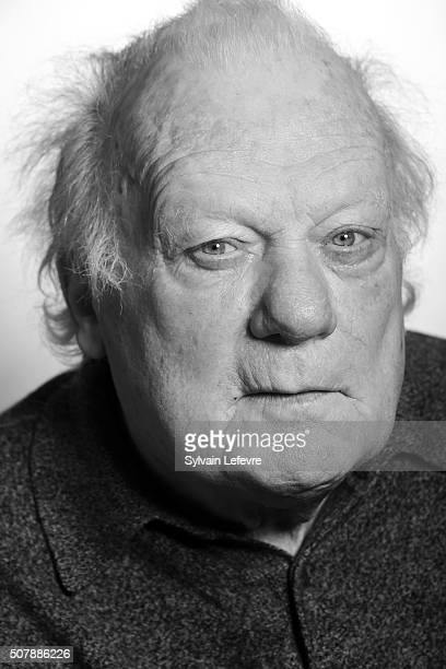 French actor Philippe Nahon poses for a portrait session during 23rd International Fantastic Film Festival on January 30 2016 in Gerardmer France