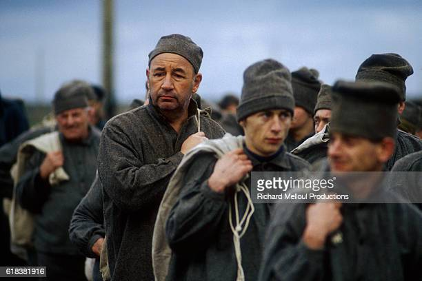 French actor Philippe Noiret performs in a scene from French director Pierre Granier-Deferre's film L'Etoile du Nord in Cherbourg. Director Bertrand...