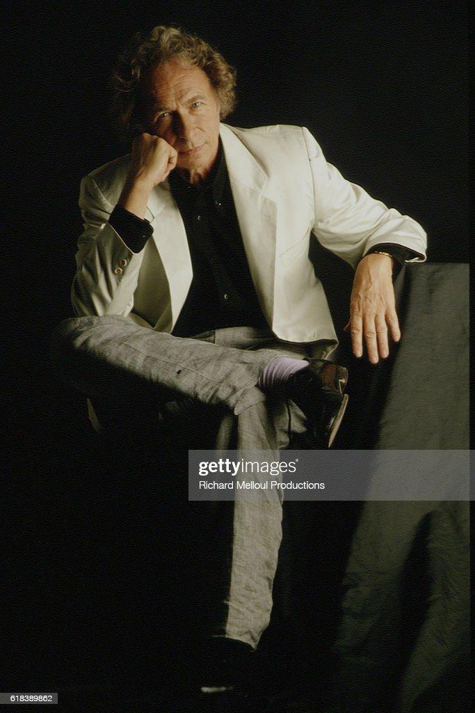 French Actor Pierre Richard : Nachrichtenfoto