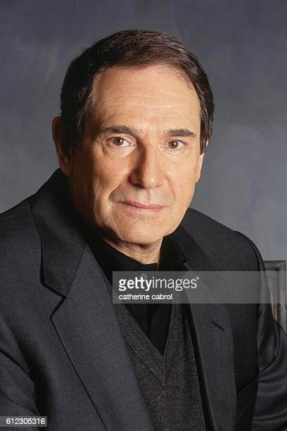 French Actor Producer and Director Robert Hossein