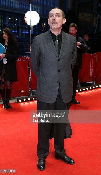 """French actor Serge Renko arrives for the screening of the French film """"Triple Agent"""" at the 54th annual Berlinale International Film Festival..."""