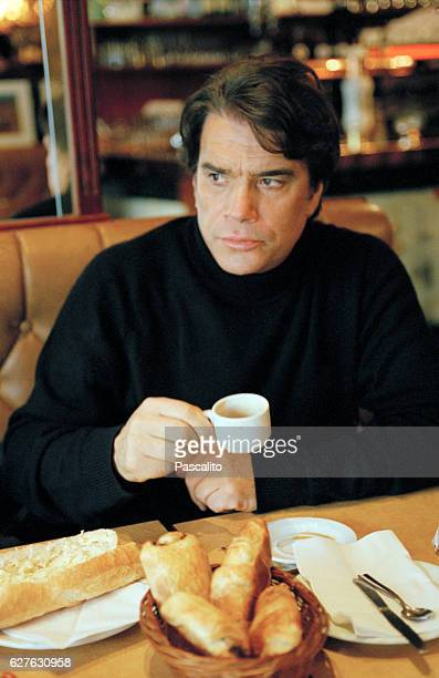 French actor singer businessman politician and television host Bernard Tapie