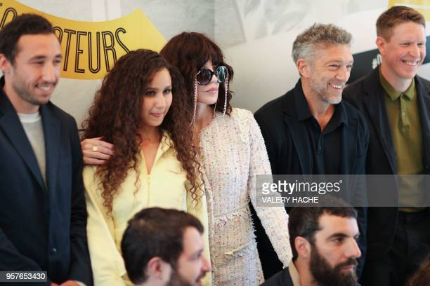 French actor Sofian Khammes French actress Oulaya Amamra French actress Isabelle Adjani French actor Vincent Cassel and French director Roman Gavras...