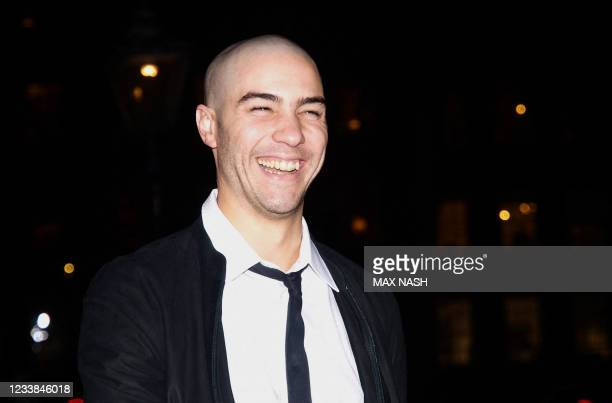 French actor Tahar Rahim arrives for the London Film Festival awards ceremony in the Inner Temple London, on October 28, 2009. This year's jury for...