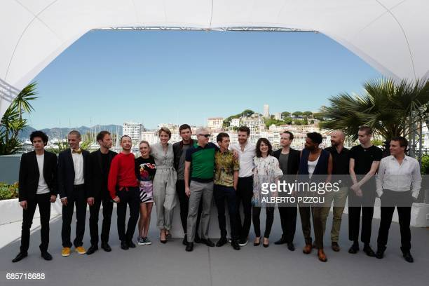 French actor Theophile Ray French actor Mehdi RahimSilvioli French actor Simon Guelat French actor Julien Herbin French actress Coralie Russier...