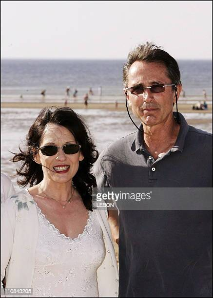 French Actor Thierry Lhermitte At The Cabourg Romantic Film Festival In Cabourg France On June 10 2006 Chantal Lauby