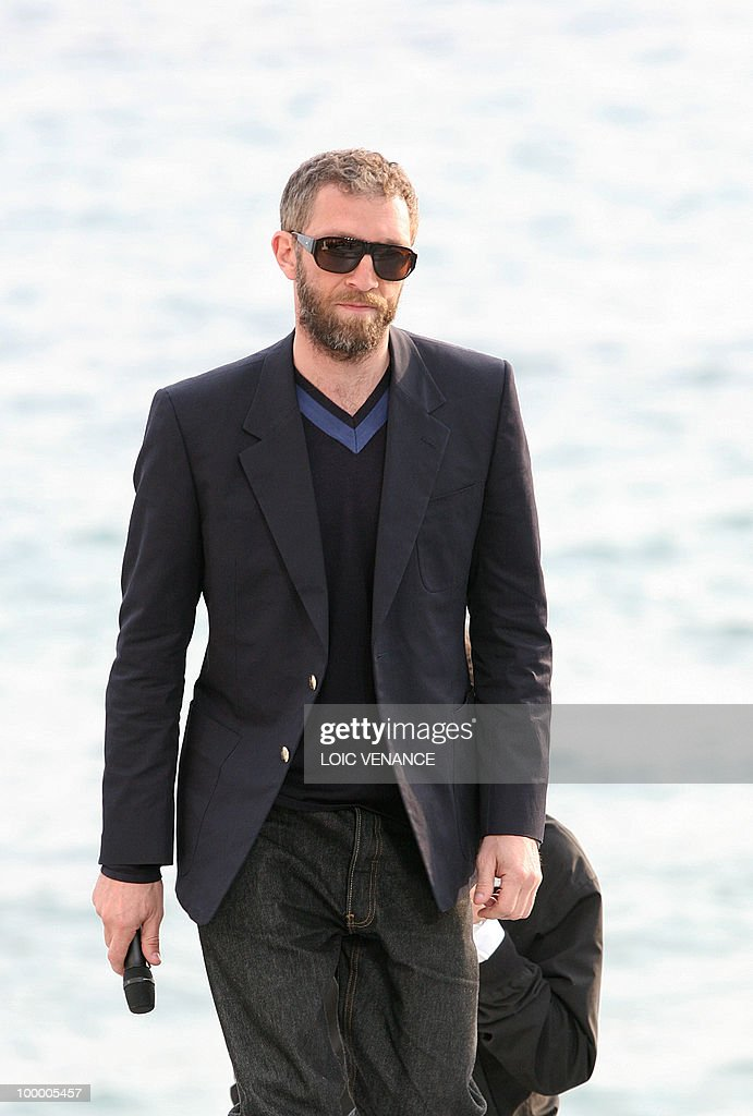 French actor Vincent Cassel arrives for the Canal+ TV show 'Le Grand Journal' at the 63rd Cannes Film Festival on May 19, 2010 in Cannes.