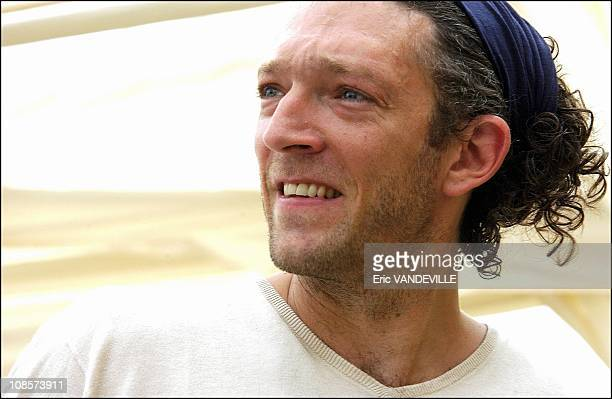 French actor Vincent Cassel in Rome to present his film Blueberry For a while rumor has been circulating about a possible breakup from Italian...