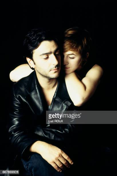 French actor Yvan Attal and his wife FrenchBritish actress and singer Charlotte Gainsbourg