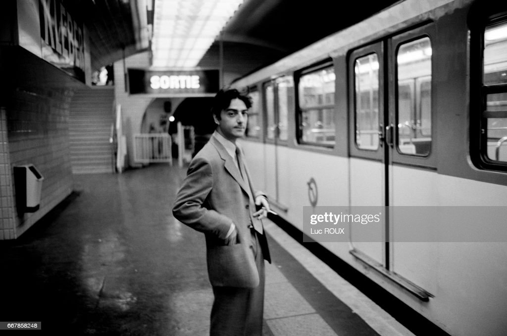 French actor Yvan Attal : News Photo