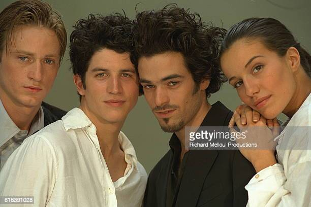 French actors Benoit Magimel Clement Sibony Romain Duris and Zoe Felix are part of the cast for Olivier Dahan's movie Deja Mort