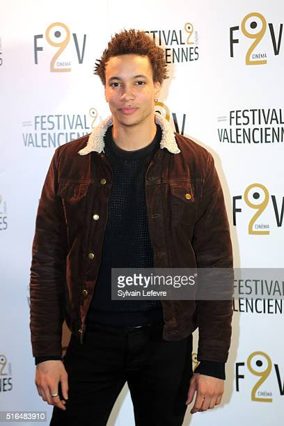 French actors Corentin Fila attends 6th Valenciennes Cinema Festival on March 18 2016 in Valenciennes France