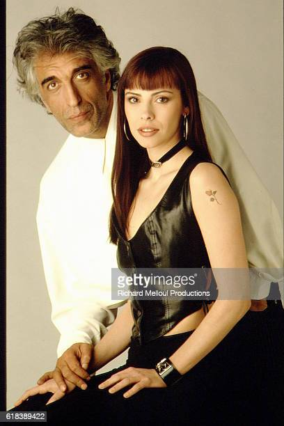 French Actors Gerard Darmon and Mathilda May